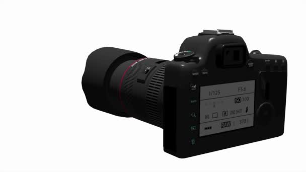 digitální slr fotoaparát