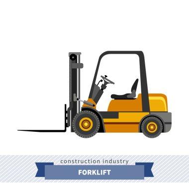 Compact forklift industrial crane