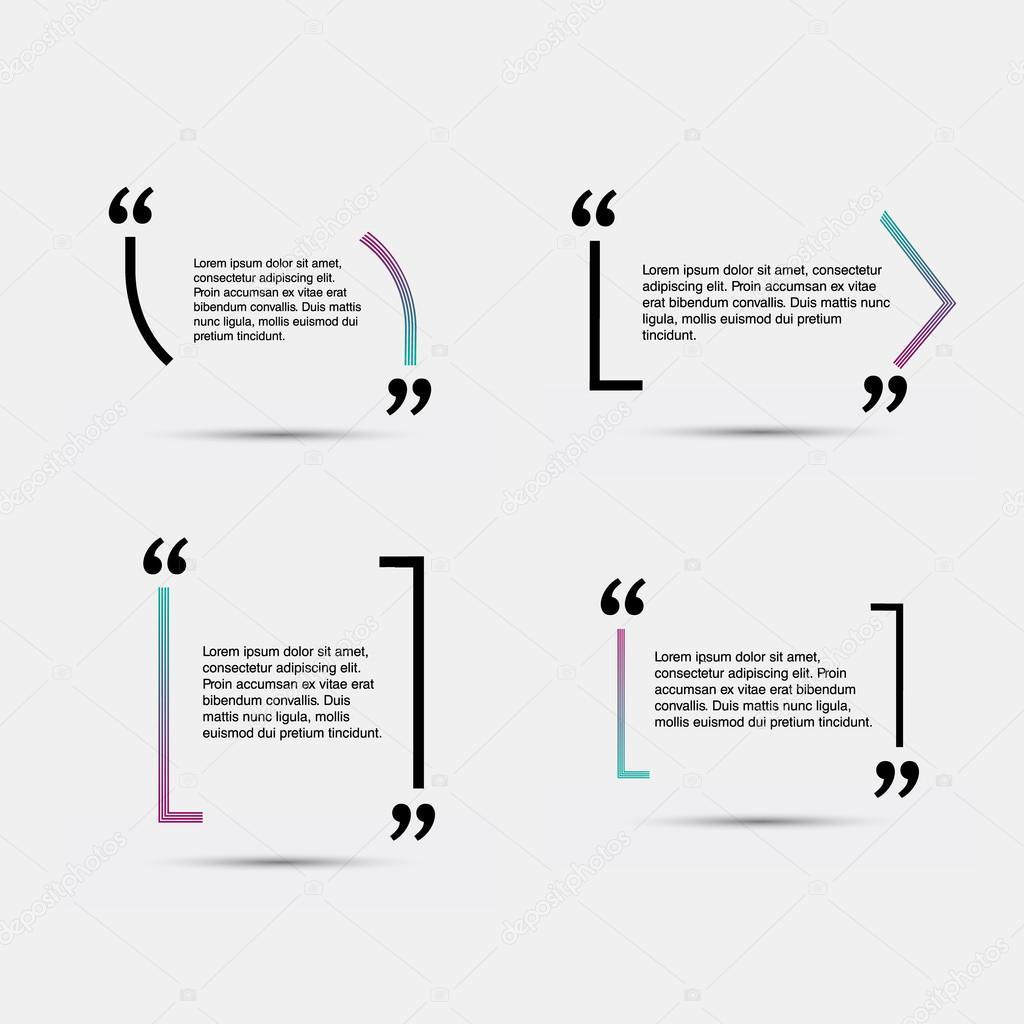 Leere Vorlage zu zitieren — Stockvektor © deisgorelkin #101142584