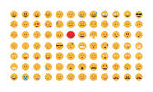 Photo Set of emoticon vector