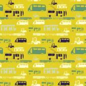 sárga busz minta