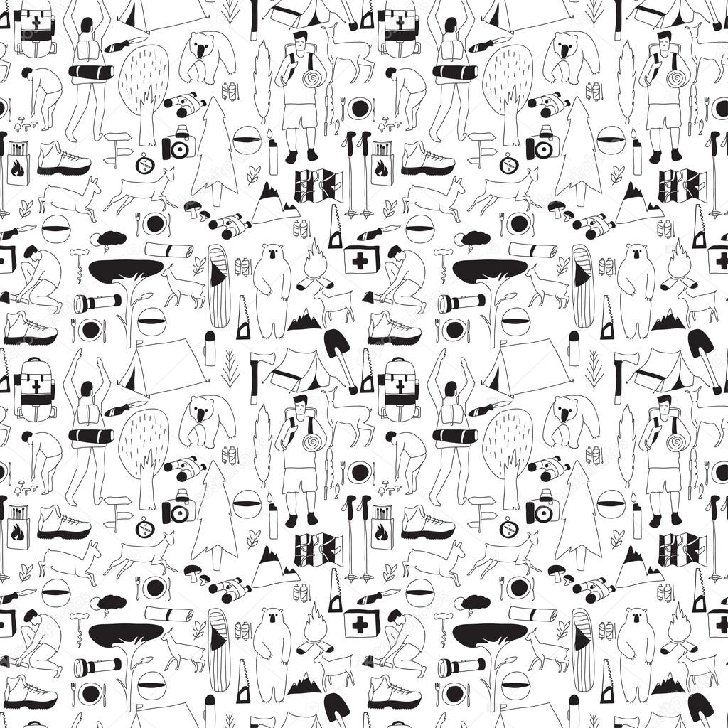 bnw camping pattern