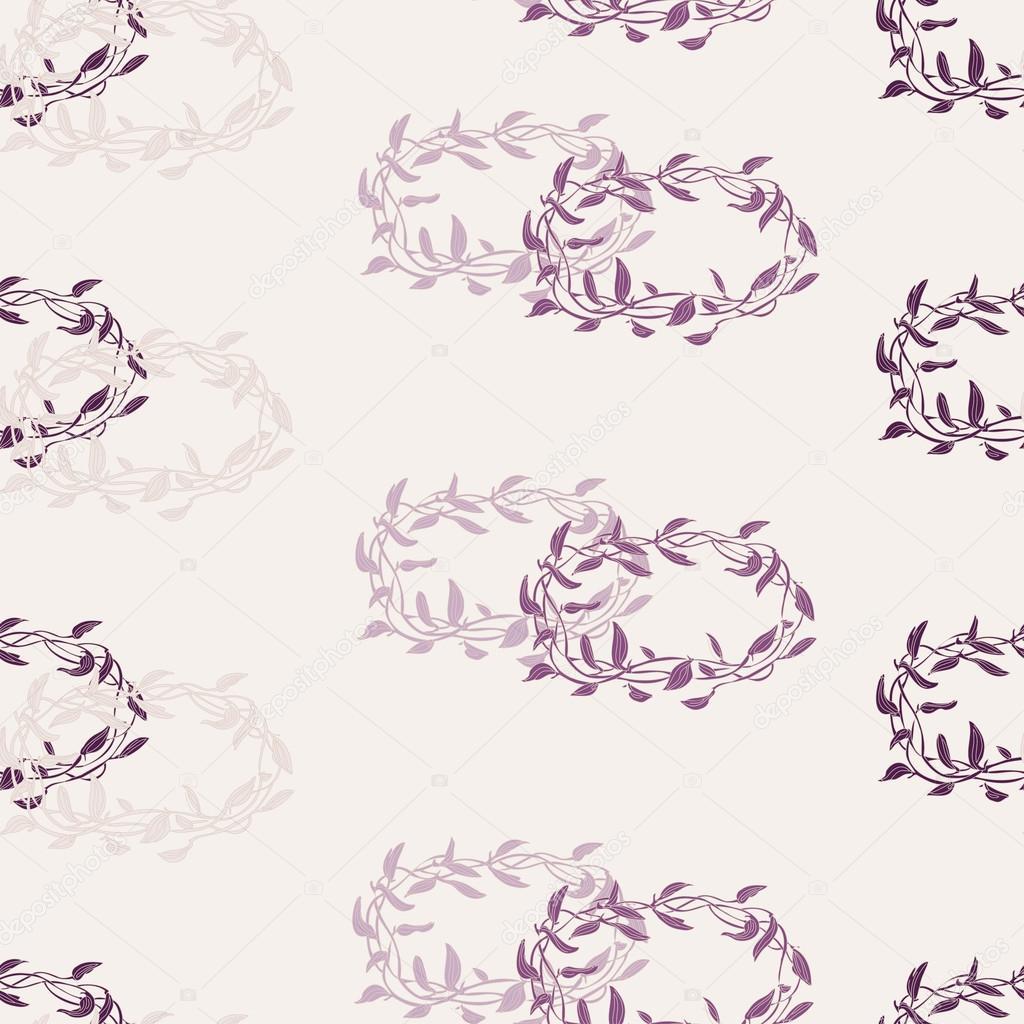 patrón de vid sin costura — Vector de stock © LittleAirplane #117586760