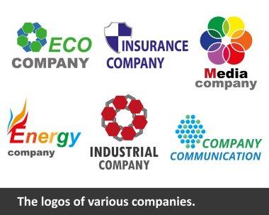 The logos of various companies.