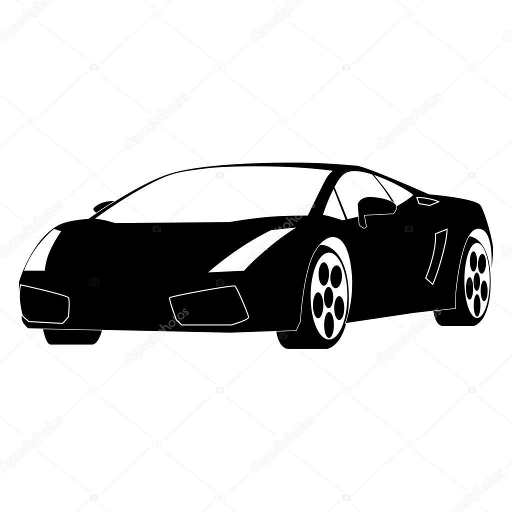 Vectores Autos Deportivos Auto Deportivo De Lujo Vector De
