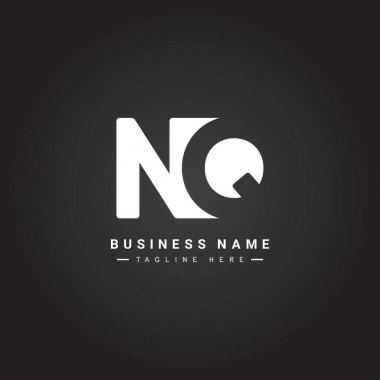 Initial Letter NQ Logo - Simple Business Logo