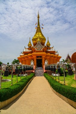 Traditional Church in Buddhist Temple