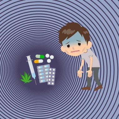 drug addict Lethargy