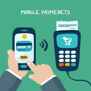 mobile payments with terminal