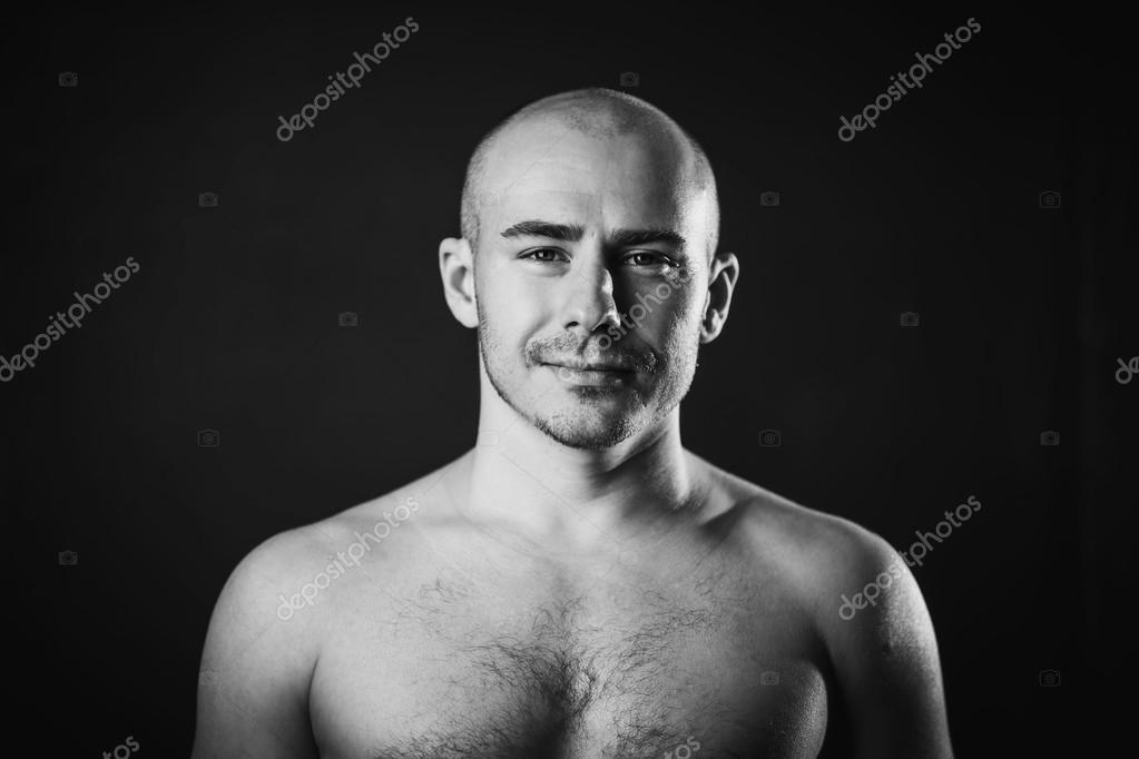 Apologise, Naked bald head black men late, than
