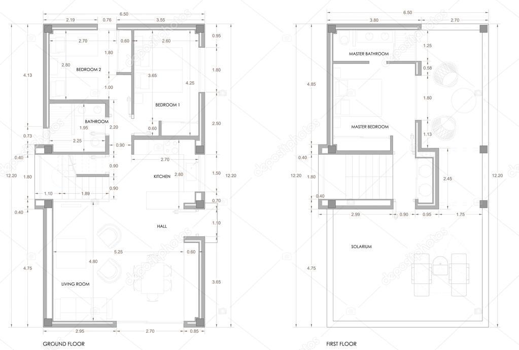 House floor plan architecture blueprint background fotografias house floor plan architecture blueprint background fotografia de stock ccuart Gallery