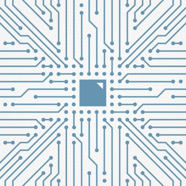 Circuit board abstract vector decor four
