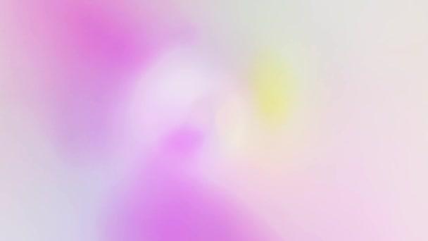 Světlé barvy jemně splývají.