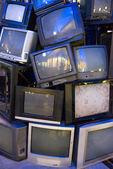 Halom régi televíziók