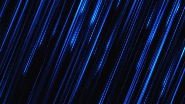 Abstraktní pohybu pozadí s tmavě modrými pruhy