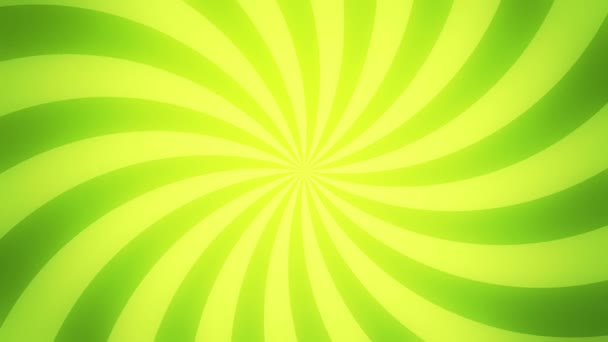 Retro radial background, green tint. Seamless loop.