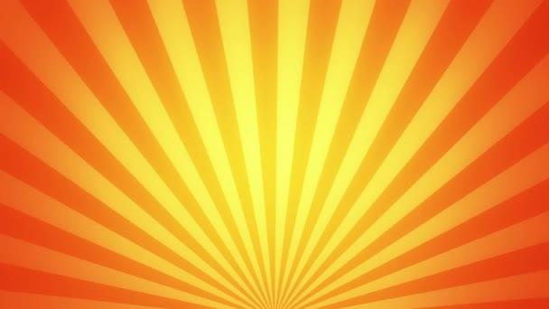Retro radiális háttér, arany-színárnyalat. Varrat nélküli hurok
