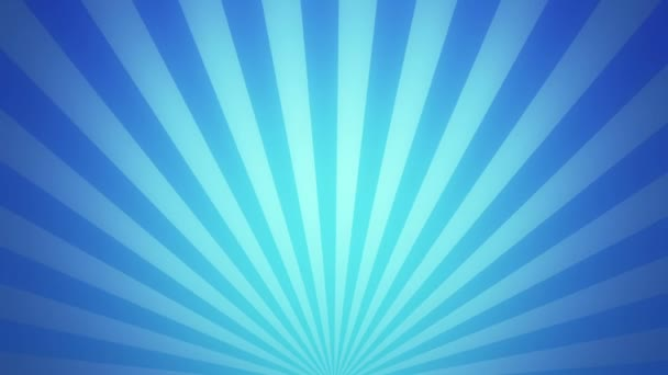 Retro radial background, blue tint. Seamless loop.