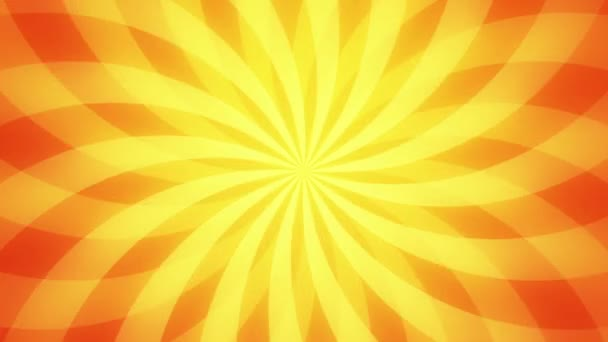 Retro radial background, gold tint. Seamless loop.