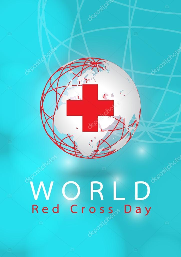 世界赤十字デー — ストックベク...