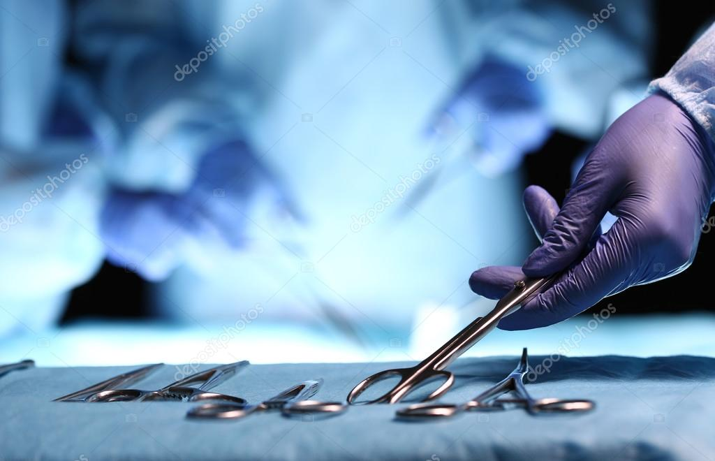Surgery and emergency concept