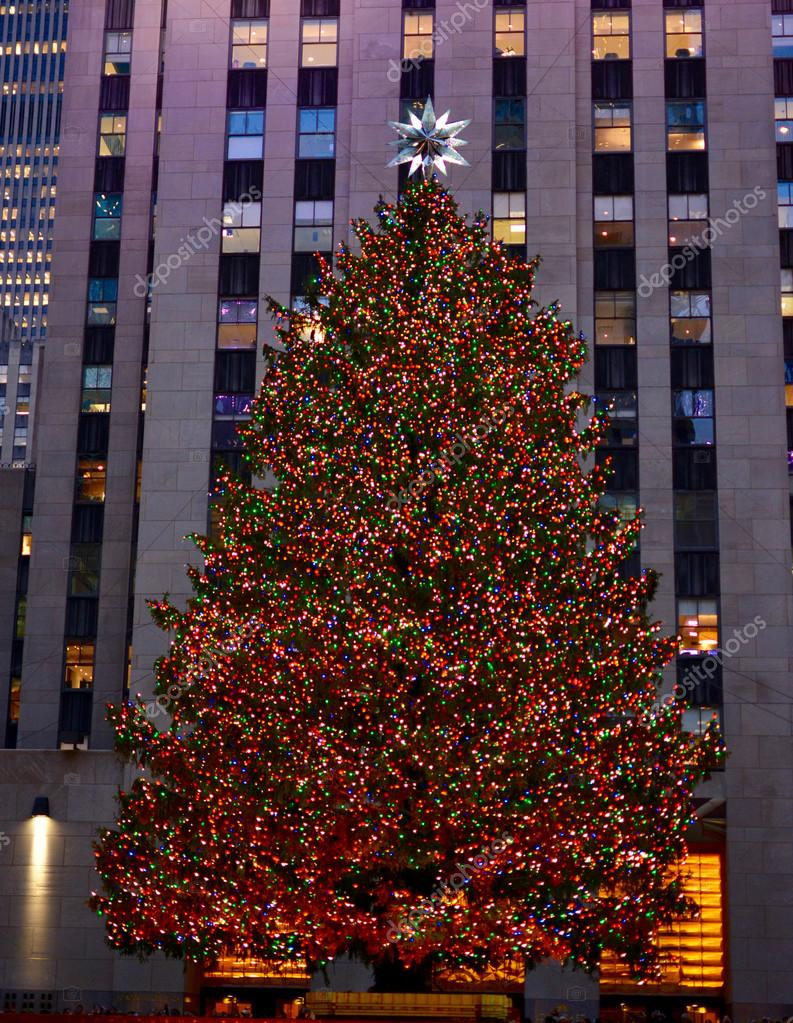 Weihnachten in New York - Rockefeller Center Christmas Tree ...