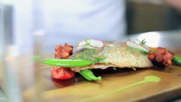 Roston sült hal