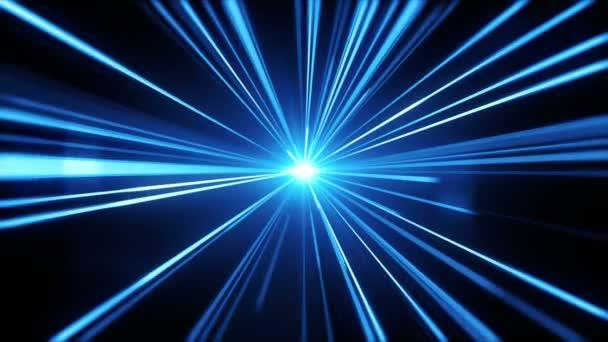 Modré světlo pruhy. Abstraktní pohybu pozadí
