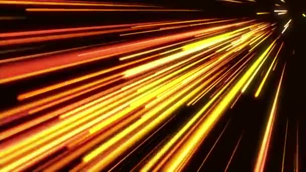 Gold light streaks. Abstract motion background.