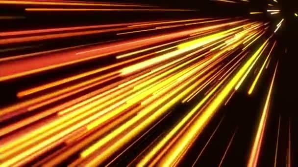 Zlaté světlo pruhy. Abstraktní pohybu pozadí