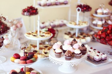 Delicious sweets bar
