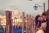 Fényképek Menyasszony és a vőlegény, Velence