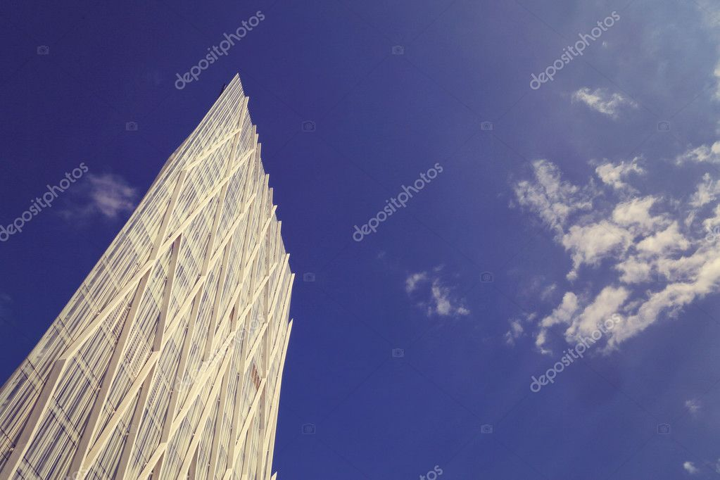 Tall modern building
