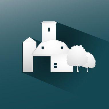 Symbol farm stable  design, vector illustration eps10 graphic