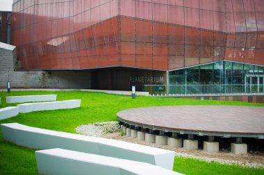 Warsaw Planetarium, entrance