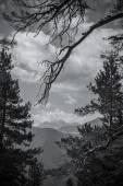 Vista alla montagna di Sofia nel Caucaso del Nord