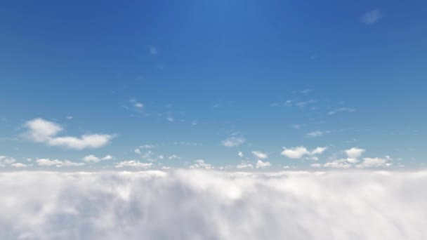 3d Flying Clouds