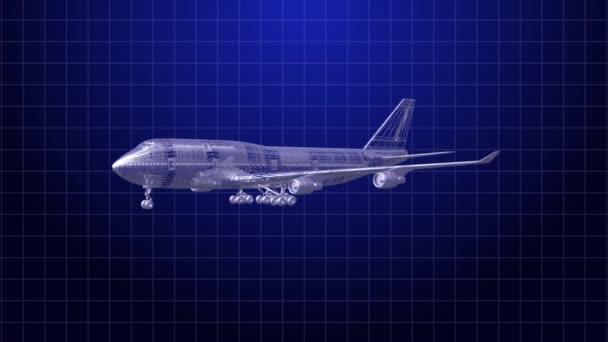 Drahtrahmen für Flugzeuge