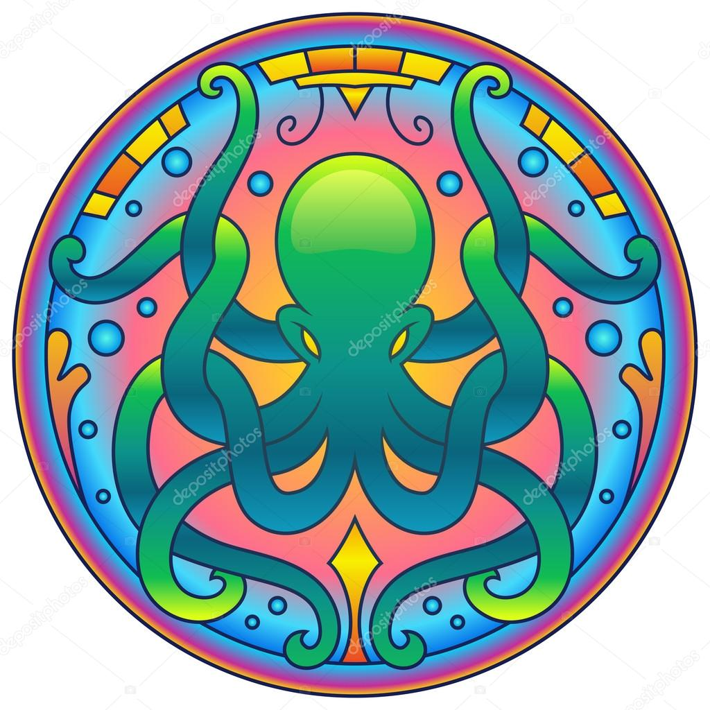 Download Mandala Octopus Svg For Silhouette - Layered SVG Cut File ...