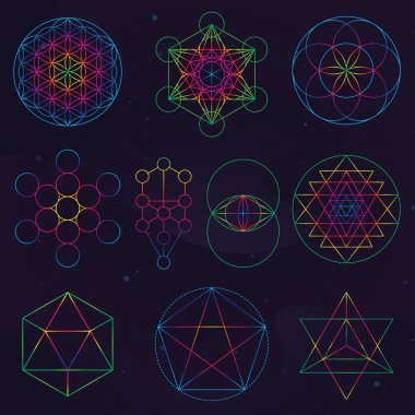 Classical Sacred Geometry Symbols