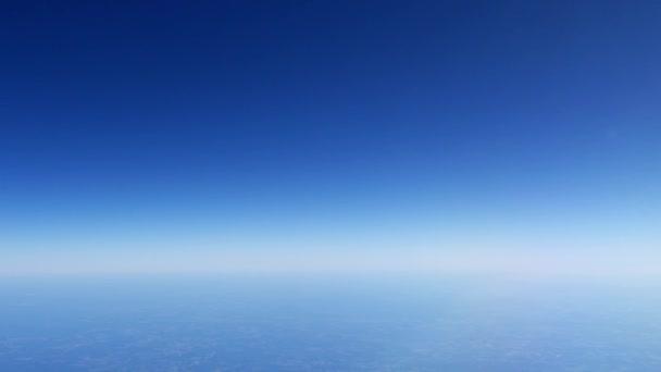 Atmosféru země, planeta horizont, 4k