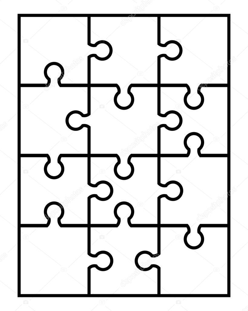 piezas de rompecabezas blanco vector de stock  u00a9 vukam jigsaw puzzle clipart powerpoint jigsaw puzzle pieces clipart