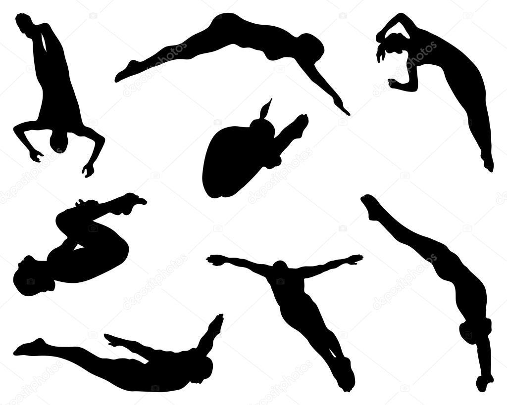 добавил, прыжки в воду картинки эмблема острой форме