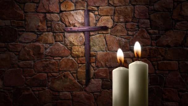 Svíčka Lite kříž