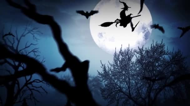 Veselý Halloween strašidelný Les