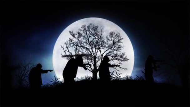Moonlight Zombie Parade