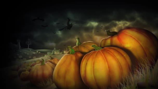 Strašidelné dýně veselý Halloween
