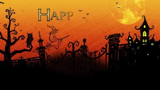 Povrchní veselý Halloween