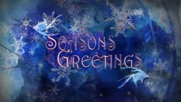 Sezony pozdravy Filigrees