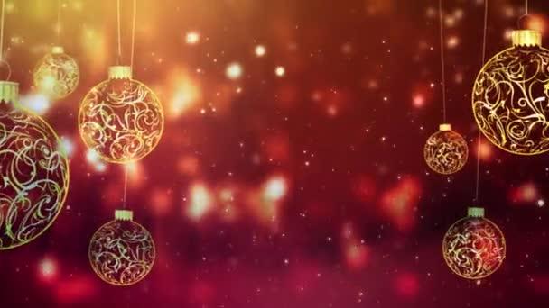 Jahreszeiten grüßen schwingende Ornamente in Gold